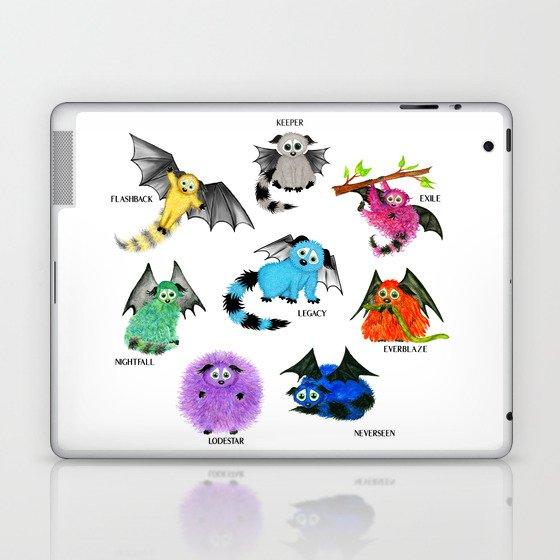 Eight Little Iggys Laptop & iPad Skin