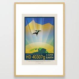 HD-40307g Framed Art Print