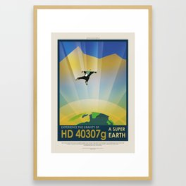 HD-40307g Framed Art Print