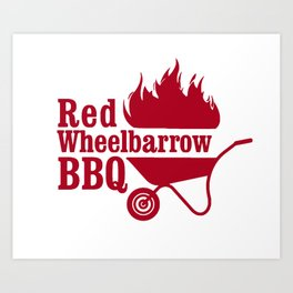 Mr. Robot - Red Wheelbarrow Art Print