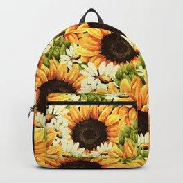 Summer Garden (Sunflower Sunshine) Backpack