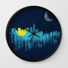 city that never sleeps Wall Clock