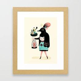 Lady Bird Framed Art Print