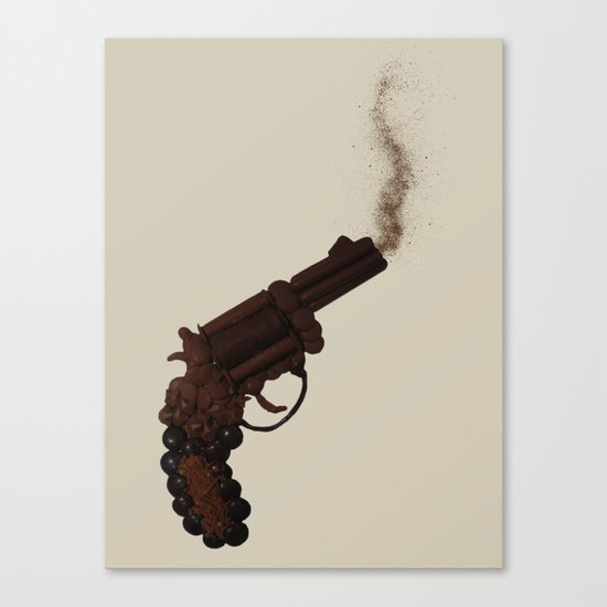 Death By Chocolate Canvas Print
