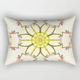 tan starship Rectangular Pillow