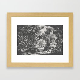 Indian Jungle Framed Art Print