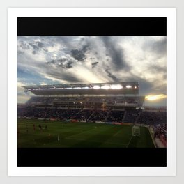 TOYOTA PARK/CHICAGO FIRE Art Print