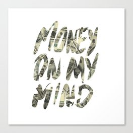 Money Canvas Print