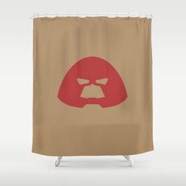 Juggernaut Helmet Shower Curtain