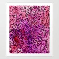 las vegas Art Prints featuring Las Vegas by Andrea Gingerich