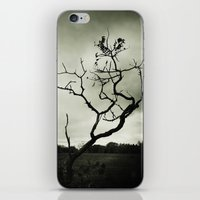 alone iPhone & iPod Skins featuring ALONE by Christina Lynn Williams