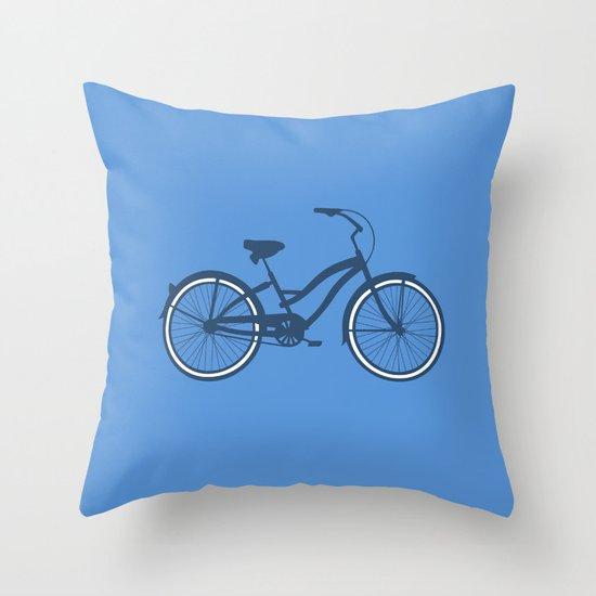 Throw Pillows With Bikes : Bike I Throw Pillow by Zeke Tucker Society6