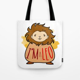 I'm a Leo Tote Bag