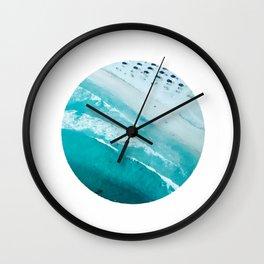 Landscape round Wall Clock