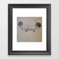 Clothes line |2 Framed Art Print