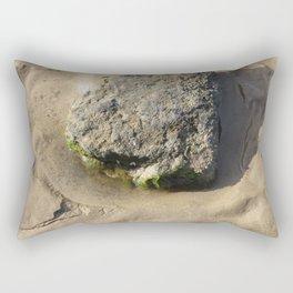 Barwon Heads Print   Bellarine Peninsula   Mini Rock Pool   Beach Art Print Rectangular Pillow