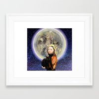 hocus pocus Framed Art Prints featuring Hocus Pocus by grapeloverarts