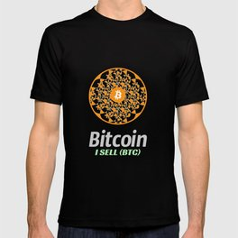 Bitcoin - sacred circle - I sell (BTC) T-shirt