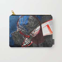 Basketball art swoosh 70 Carry-All Pouch