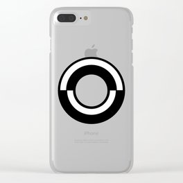 Letter O Clear iPhone Case