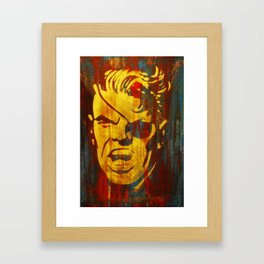 Get Furious Framed Art Print