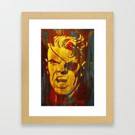Get Furious Framed Art Print