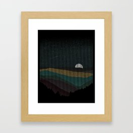 Moonrise (Color) Framed Art Print