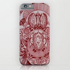 Maroon Mask iPhone 6s Slim Case
