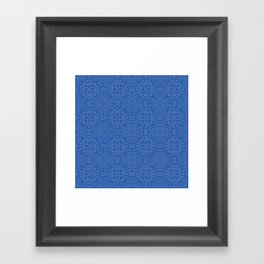 Blueque Framed Art Print