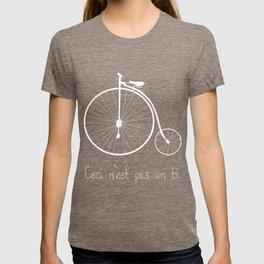 Dyke in white bike T-shirt