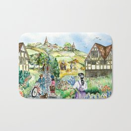 European Village Bath Mat