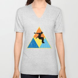 Freerunning Triangle T-Shirt RETRO EDITI Unisex V-Neck