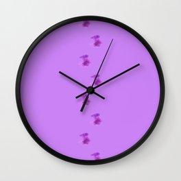 Circles circles circles Wall Clock