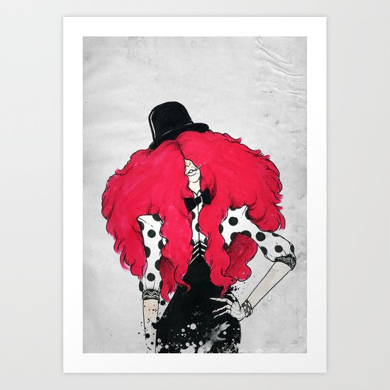 RED-DOT Art Print