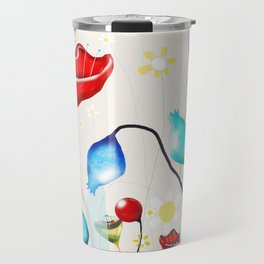 After all that we've been through - Poppy seed dried Rupy de tequila seed pods Travel Mug