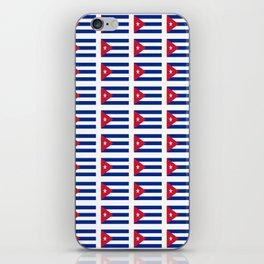 Flag of Chile 2 -Spanish,Chile,chilean,chileno,chilena,Santiago,Valparaiso,Andes,Neruda. iPhone Skin