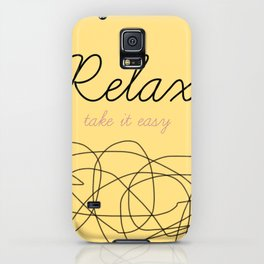 Relax Take it easy iPhone Case
