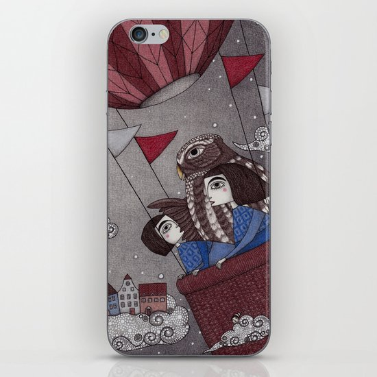 Through the Clouds and Back Again iPhone & iPod Skin