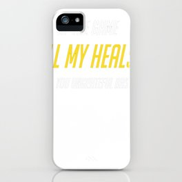 Healer Support Mains (Salty) iPhone Case