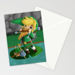 Link and Makar Stationery Cards
