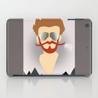 the dude iPad Cases featuring Dude by DM Davis