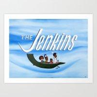 The Jenkins Art Print