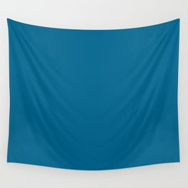 Nature's Delicacy ~ Vibrant Teal Wall Tapestry