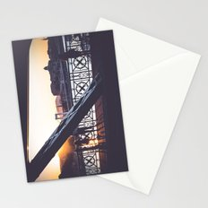 Freedom bridge - summer sunset IV. Stationery Cards