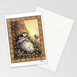 Gnome Bones Stationery Cards