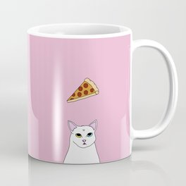 Fat D. Loves Pizza Coffee Mug