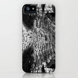 Surreal Gorilla into shadows iPhone Case