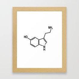 Serotonin Framed Art Print