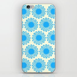 Vintage Flower_Turquoise iPhone Skin