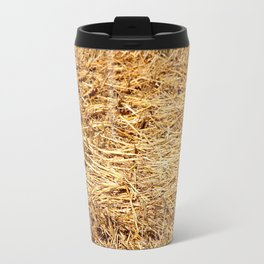 Ein Bett im Kornfeld / a bed in the hay Travel Mug